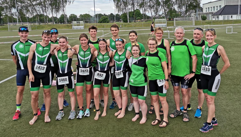 Viermärker dominieren beim Kamener Triathlon