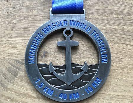 Zum zweiten Mal Triathlon in Hamburg auf der Olympischen Distanz