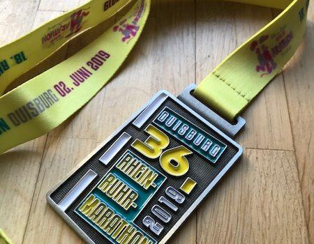 Mein allererster Halbmarathon in der Hitzewüste Duisburg