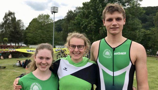 Pauline Wieczorek gewinnt Altersklasse beim Hagener Triathlon