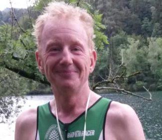 Nasskalte Berg- und Talfahrt beim Thumsee-Triathlon für Claus Wieczorek