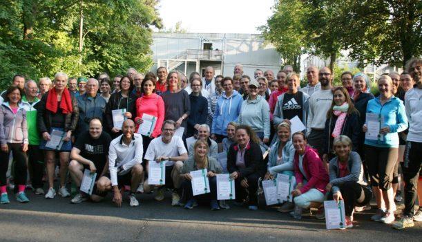 Erfolgreicher Abschlusslauf der Laufeinsteiger