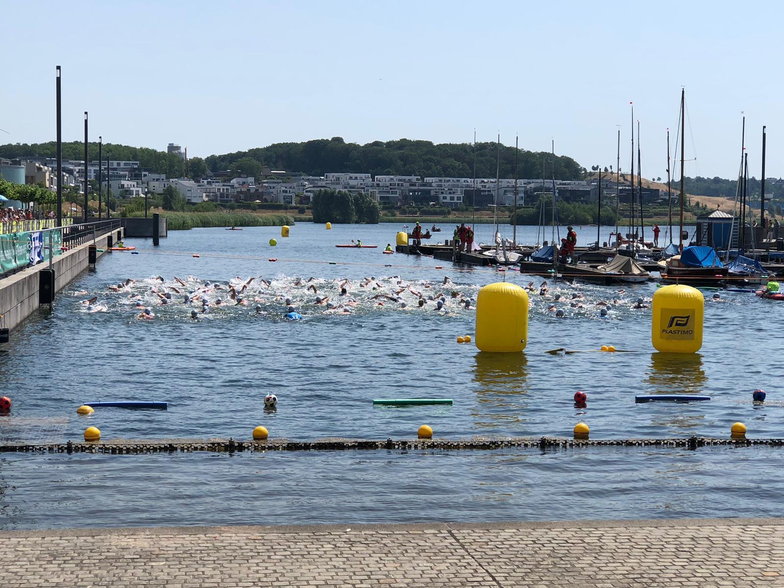 Schwimmstart Sprint