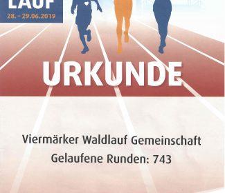 Die Viermärker beim 24 h Lauf