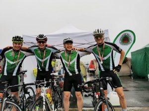 Das 4er-Team ist fertig