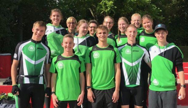 Spannender Saisonabschluss beim Staffel-Triathlon in Ratingen
