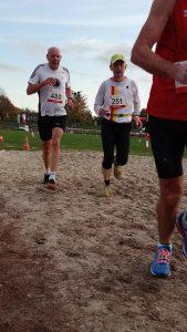 Werner Koglin beim Westfalenmeisterschaft Crosslauf