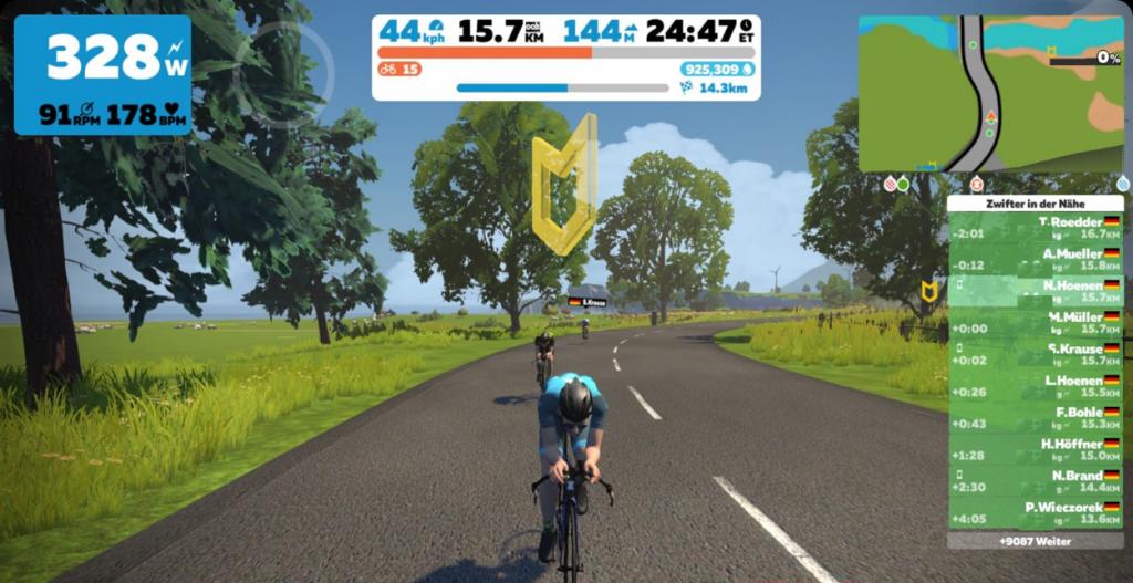 Triathlon-virtuell