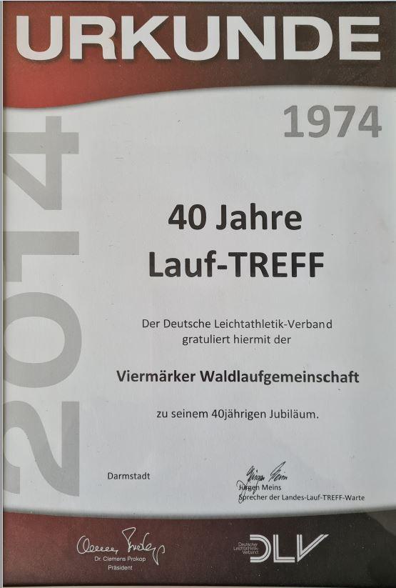 40 Jahre Lauf-TREFF